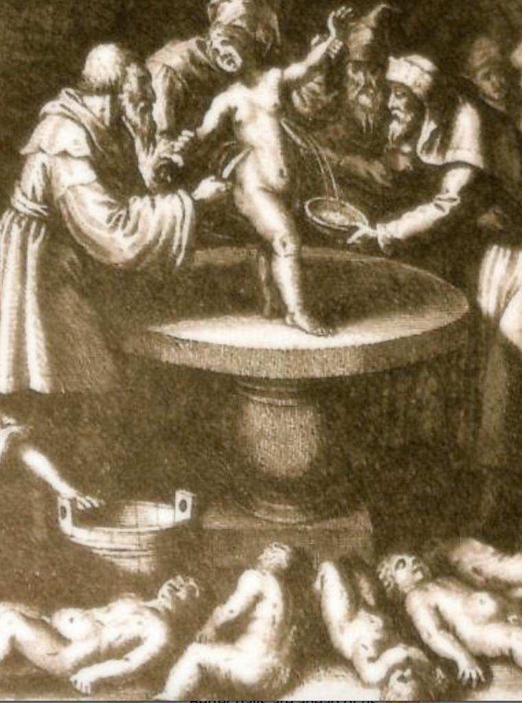 dark fetish human sacrifice